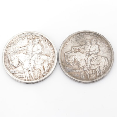 1925 Stone Mountain Commemorative Silver Half Dollars