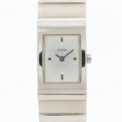 Guess Stainless Steel Quartz Wristwatch