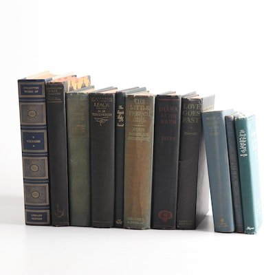 Vintage Books Featuring Marcel Proust, Voltaire, More