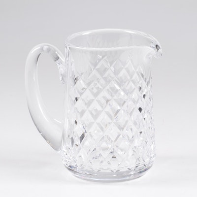 "Waterford ""Alana"" Crystal Water Pitcher, Late 20th Century"