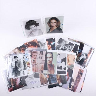 Drew Barrymore, Natalie Portman and Other Celebrity Signed Photographs