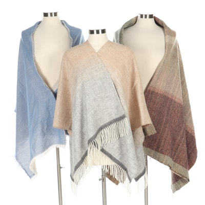Wool Shawls Including Forsyth of Edinburgh