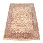 "Machine Made Karastan ""Ivory Kirman"" Wool Room Sized Rug"