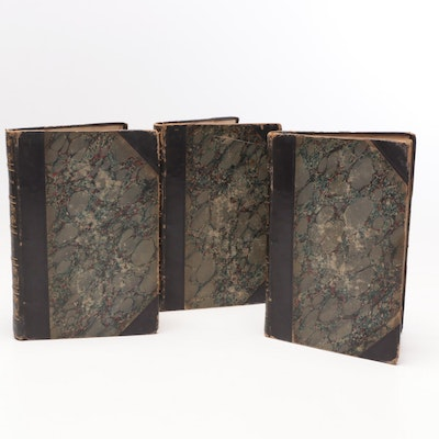 """1896 Early Edition """"Woodstock"""" by Sir Walter Scott"""