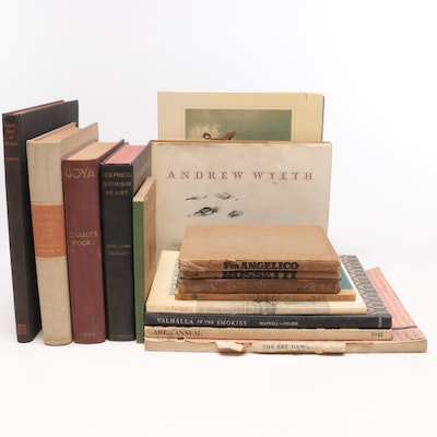 """1939 Review Copy """"Sculpture of To-day"""" with Additional Art Books"""