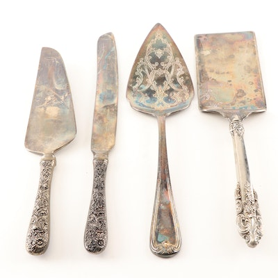Godinger and Other Silver Plate Serving Utensils