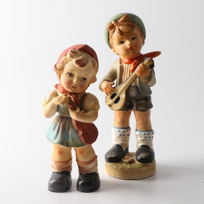 Hummel Style Figurines of Children