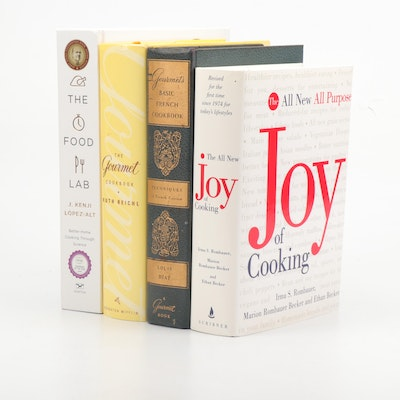 "Collection of Hardcover Cookbooks Featuring ""The Food Lab"""