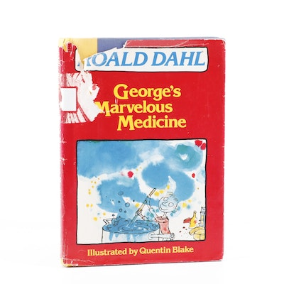 """1982 First US Edition """"George's Marvelous Medicine"""""""