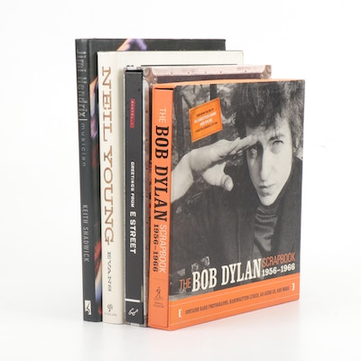 Musician Coffee Table Books on Jimi Hendrix and Bob Dylan and More