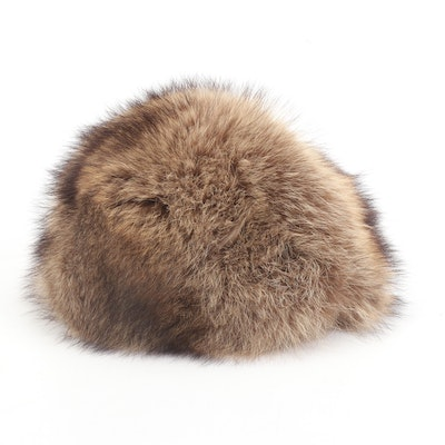 Raccoon Fur Hat