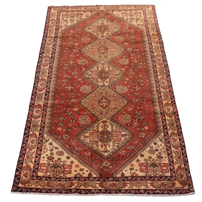 5'1 x 9'11 Hand-Knotted Northwest Persian Rug, circa 1950