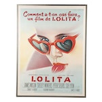 "French Movie Poster after Roger Soubie ""Lolita"""