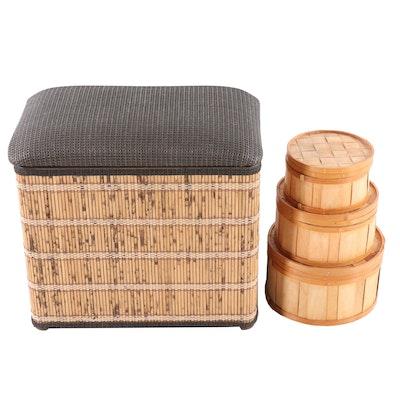 Hamper and Split Pine Baskets