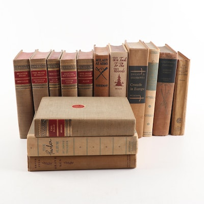Vintage Books Featuring James Thurber, Ernie Pyle and More