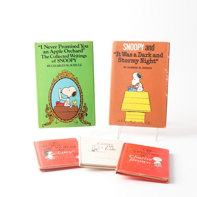 """""""Peanuts"""" Character Books by Charles M. Schulz"""