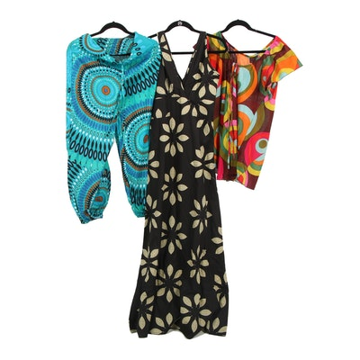 Aller Simplement Cotton Maxi Dress, Top and Pants
