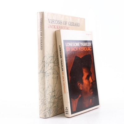 """""""Visions of Gerard"""" and """"Lonesome Traveler"""" Books by Jack Kerouac"""