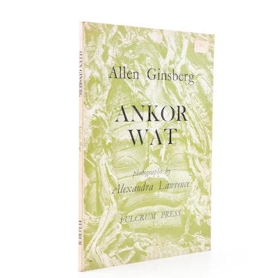 "1968 ""Ankor Wat"" Poems by Allen Ginsberg"