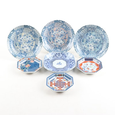 Japanese Porcelain Tableware, Contemporary