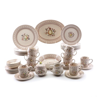 "Johnson Brothers ""Fruit Sampler"" Dinnerware, Mid 20th Century"