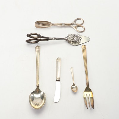 Christofle Deco Style Sterling Serving Pieces