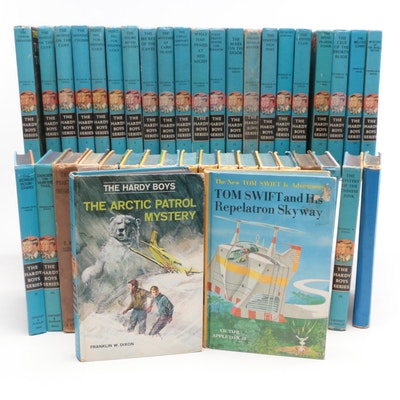 "Vintage ""Hardy Boys"" and ""Tom Swift Jr."" Novels"