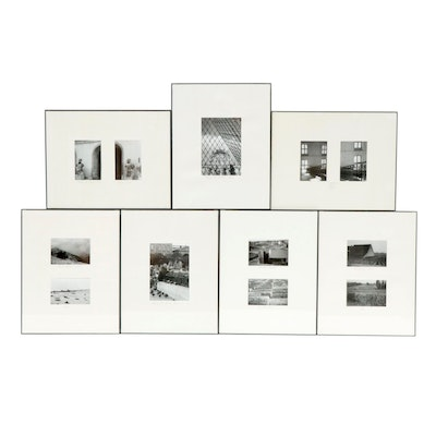 French Scene and Landscape Silver Print Photographs