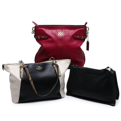 Coach Leather Shoulder Bags and Totes