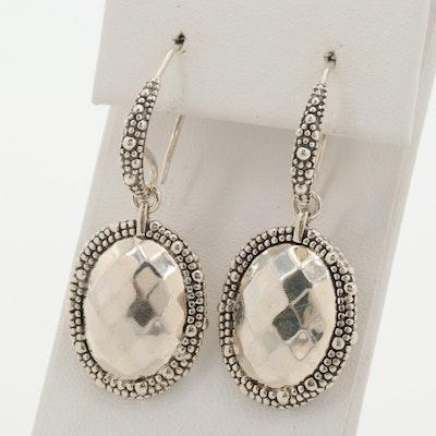 Michael Dawkins Sterling Silver Dangle Earrings