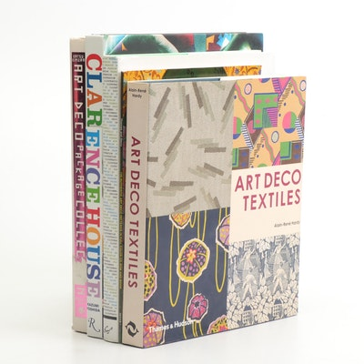 Books on Art Deco, Fashion, Textiles, and Decorating