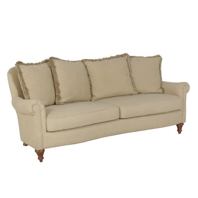 "Contemporary Upholstered Sofa from ""Destinations"" by Century"