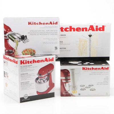 KitchenAid Stand Mixer Attachments and Pasta Drying Rack