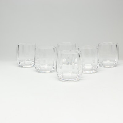 "Saint- Louis Crystal ""St. Cloud"" Cocktail Glasses"