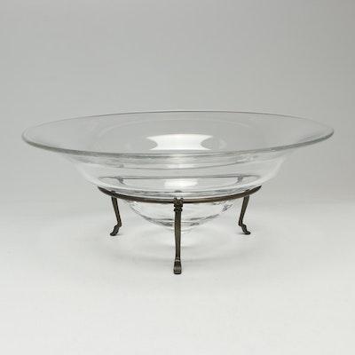 "Steuben Glass ""Archaic"" Bowl, Designed by Michael Graves"