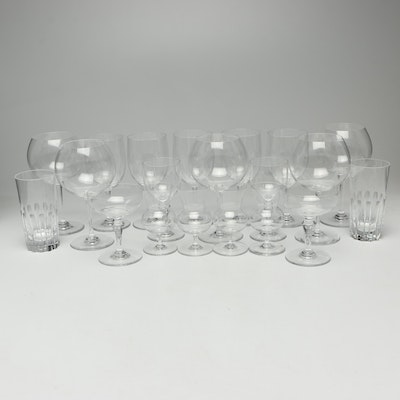 Baccarat Crystal Assorted Barware