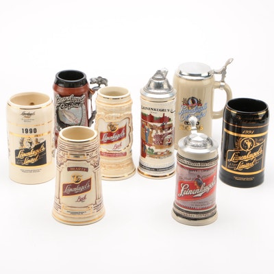 Leinenkugel's Ceramic Beer Steins, Contemporary