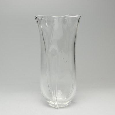 """Steuben Art Glass """"Handkerchief"""" Vase"""