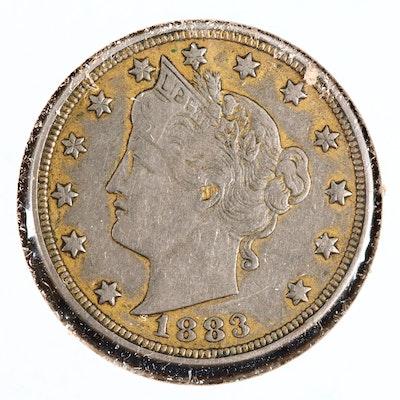 1883 Racketeer Nickel