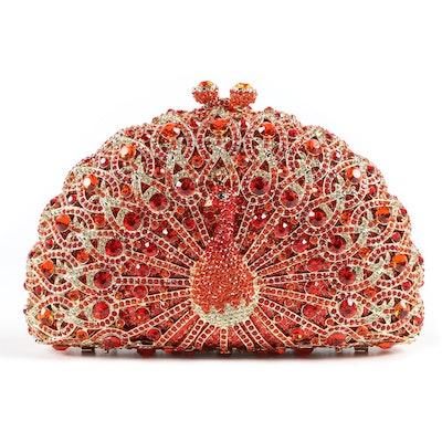 Ins Embellished Crystal Evening Bag for Ciel Collectibles