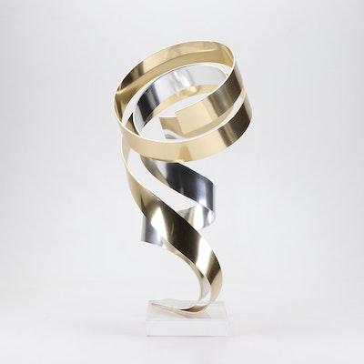 Dan Murphy Abstract Metal Sculpture
