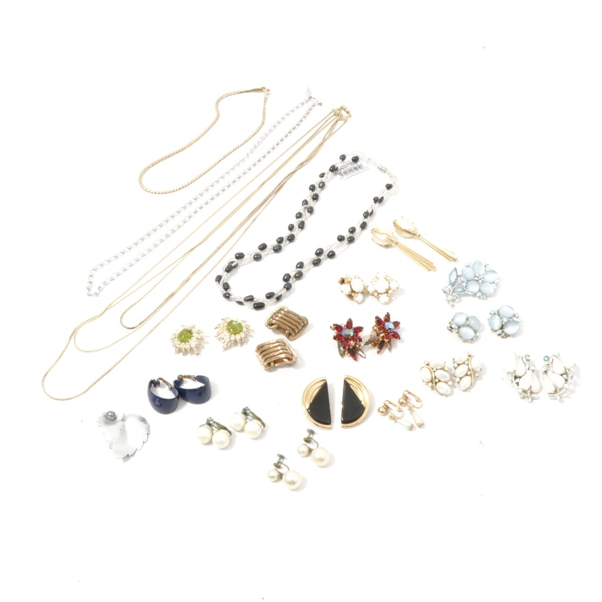Costume Jewelry Featuring Givenchy, Lisner, Coro and More