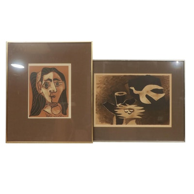 Pablo Picasso and Georges Braque Lithographs