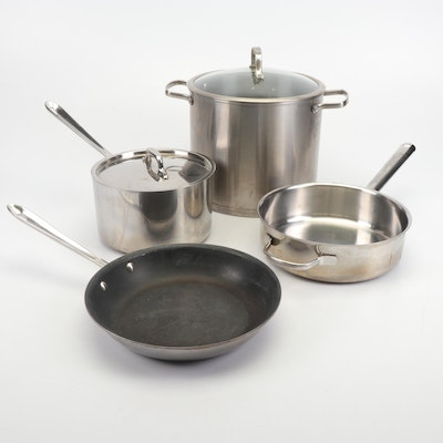 Denmark, All-Clad, and Cuisinart Pots and Pans