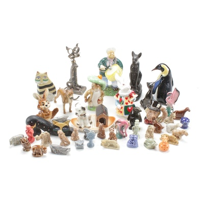 Hutschenreuther, Goebel, Royal Doulton & other Figurine Assortment