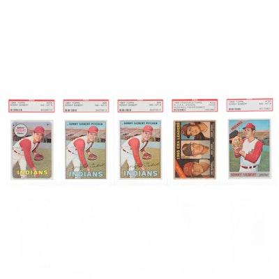 1960s Topps Baseball Cards, PSA Graded