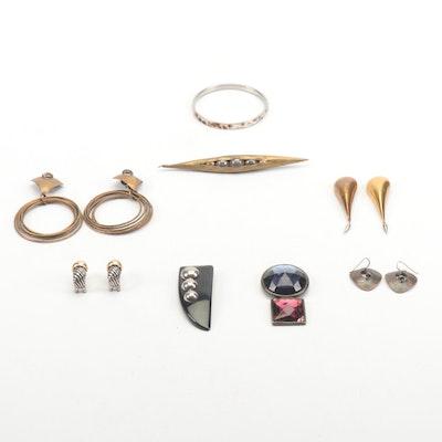 Modernist & Vintage Style Jewelry