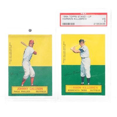 1964 Topps Harmon Killebrew Stand-up Professionally PSA Graded Baseball Card