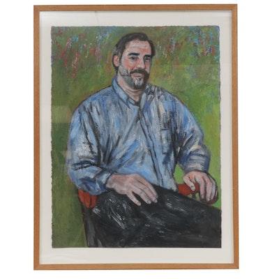 20th Century Portrait Oil Painting