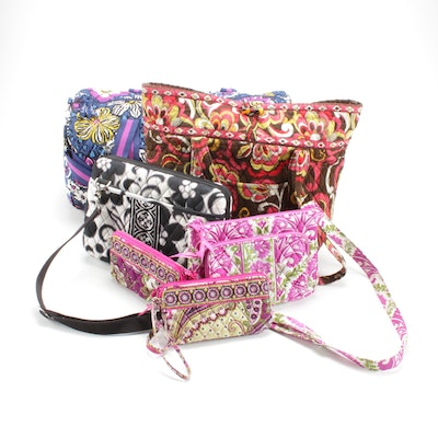 Vera Bradley Quilted Cotton Bags and Wallets in Various Patterns